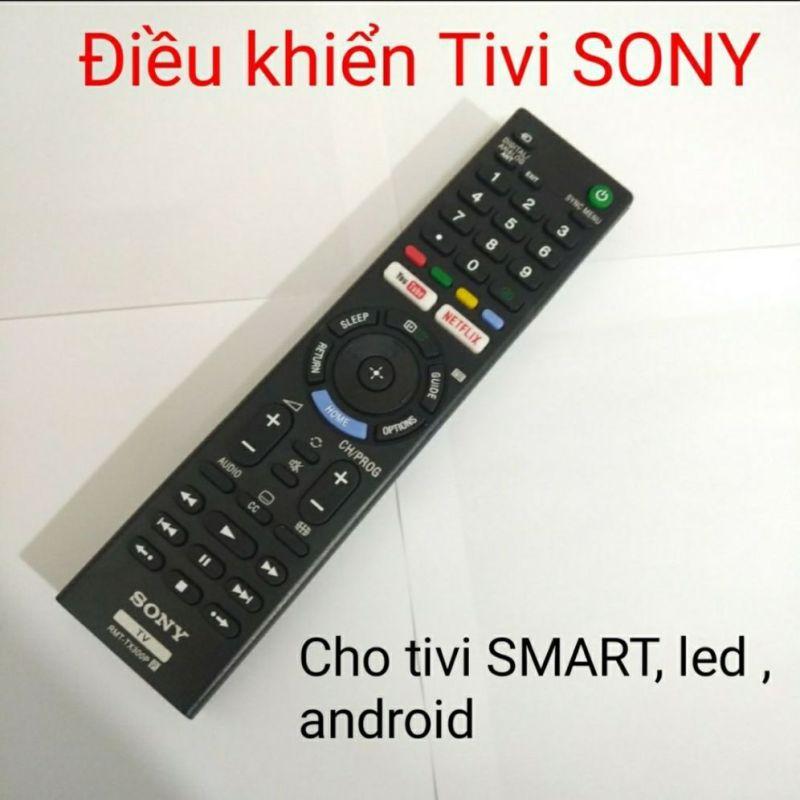 Bảng giá điều khiển tivi sony smat led android TX300p chinh hãng