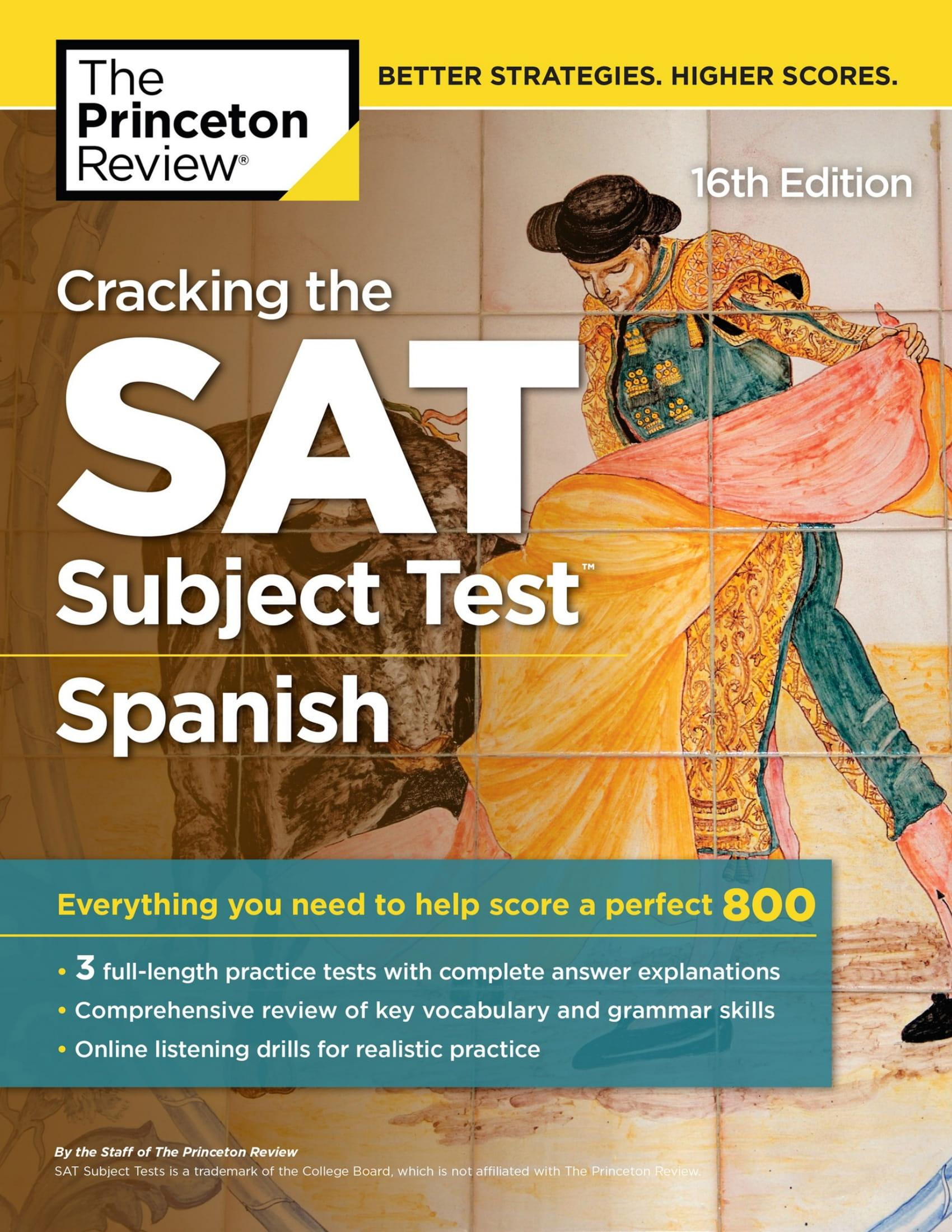 Mua Cracking the SAT Subject Test in Spanish, 16th Edition