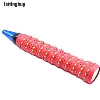 Jettingbuy Hấp Thụ Mồ Hôi Vợt Chống Trượt Băng Tay Cầm Grip Cho Cầu Lông Quần Vợt Squash Band Đen thumbnail