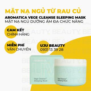 Mặt nạ ngủ giúp thải độc và dưỡng da - Aromatica Lively Vege CleanseTM Sleeping Mask 100g thumbnail