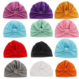 Mũ turban xinh xắn cho bé, vải cotton cao cấp mềm mịn, được chọn màu - MU10 thumbnail