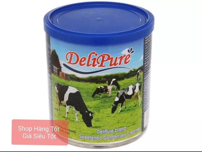 [HCM]Combo 2 lon sữa đặc có đường Delipure (1 kg/ lon)