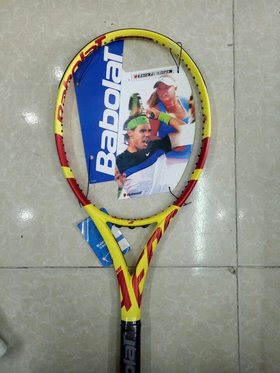 Bảng giá Vợt tennis Babolat 280g tặng căng cước quấn cán và bao vợt - ảnh thật sản phẩm Thể thao online