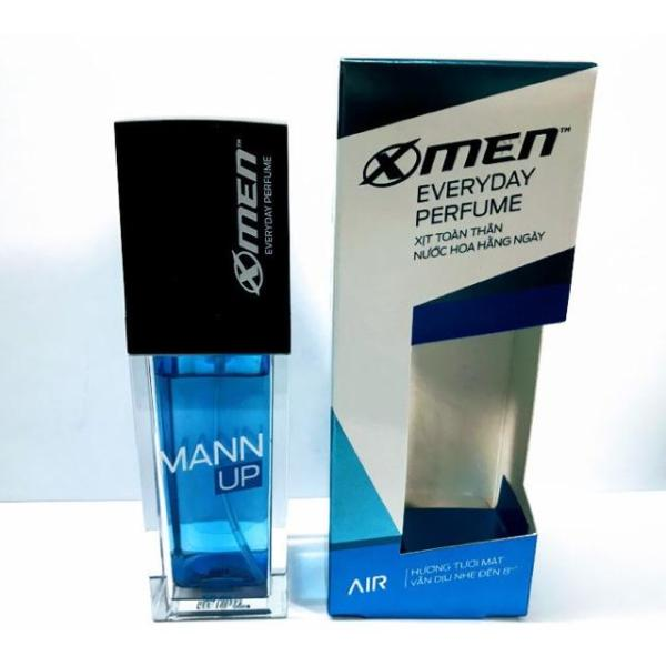 Xịt nước hoa hằng ngày X-Men Everyday Perfume Mann Up Air 50ml