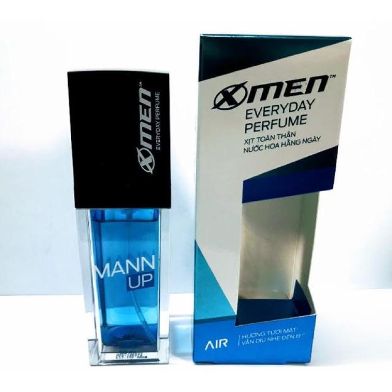 Xịt nước hoa toàn thân X-Men Everyday Perfume Mann Up Air 50ml