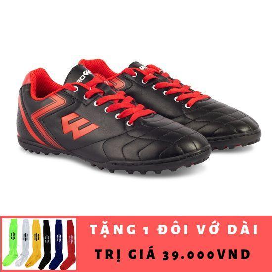 Giày đá bóng Prowin FX Plus TF (ĐEN) + Tặng 1 đôi vớ dài Nhật Bản