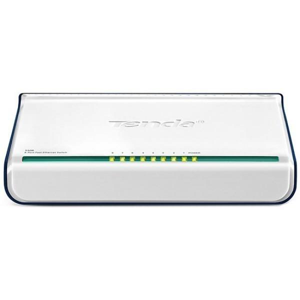 Giá Bộ Chia Mạng Switch 8 cổng 10/100Mbps Tenda S108 – Hàng Chính Hãng