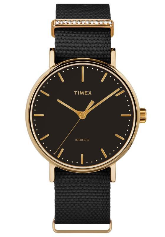 Đồng hồ Nữ Timex Fairfield Women's Crystal - TW2R49200
