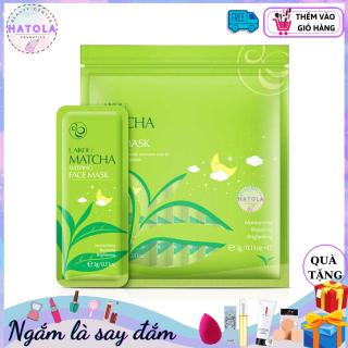 15 go i Mặt nạ ngủ Matcha LAIKOU co công du ng dưỡng ẩm, chống lão hóa da và ngăn bã nhờn kêt hợp phục hồi da MNNMATCHA thumbnail
