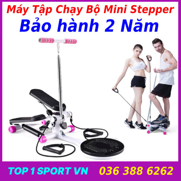 Máy tập chạy bộ đi bộ tại chỗ Mini Stepper Elipsport® tại nhà - Nhỏ gọn, tiện lơi, ưu việt và dễ dàng tập luyện - BẢO HÀNH 2 NĂM