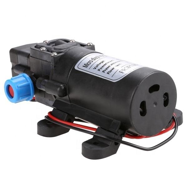 Máy Bơm Áp Phun Xương, Máy bơm mini tăng áp lực nước loại 12V - 70W lưu lượng 6L/phút
