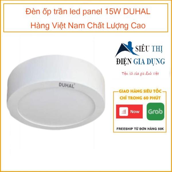 Đèn ốp trần led panel 15W DUHAL Hàng Việt Nam Chất Lượng Cao KEGC515