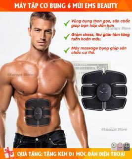 Máy tập cơ bụng Ems Beauty, máy tập bụng massage giảm mỡ, máy tập cơ bụng 6 múi - Tự động tác động trực tiếp tới cơ bụng, với 6 cường độ tập giúp người dùng đạt hiệu quả cao khi sử dụng. thumbnail