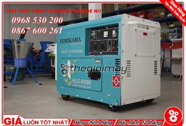 Máy phát điện Tomikama 6500 siêu chống ồn - Máy phát điện ch.ính h.ãng