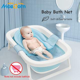 Đệm lót / lưới tắm lắp vào thau tắm cho trẻ sơ sinh có thể điều chỉnh kích thước (sản phẩm là đệm lót không bao gồm thau tắm) - INTL