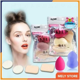 Mút trang điểm KELI siêu đẹp mịn, độ đàn hồi cực tốt, miếng mút trang điểm, miếng mút tán kem, mút tán phấn, sản phẩm mới nhất hiện nay - SPU006 thumbnail
