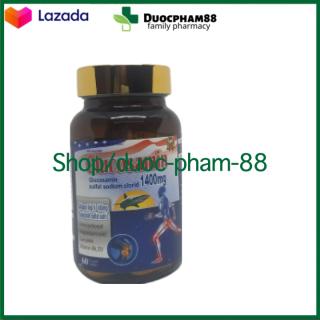 ( CHÍNH HÃNG) - Viên uống bổ xương khớp Glucosamin 1400mg giảm đau nhức mỏi xương khớp, giảm thoái hóa khớp - Hộp 60 viên HSD 2023 - HSD 2023 chuẩn GMP 5