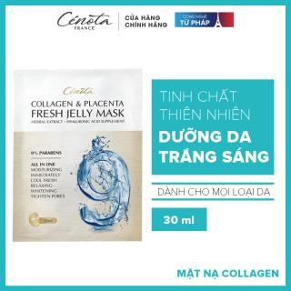 Mặt nạ dưỡng trắng da, tăng collagen Cénota Collagen Placenta Fresh Jelly Mask 30ml thumbnail