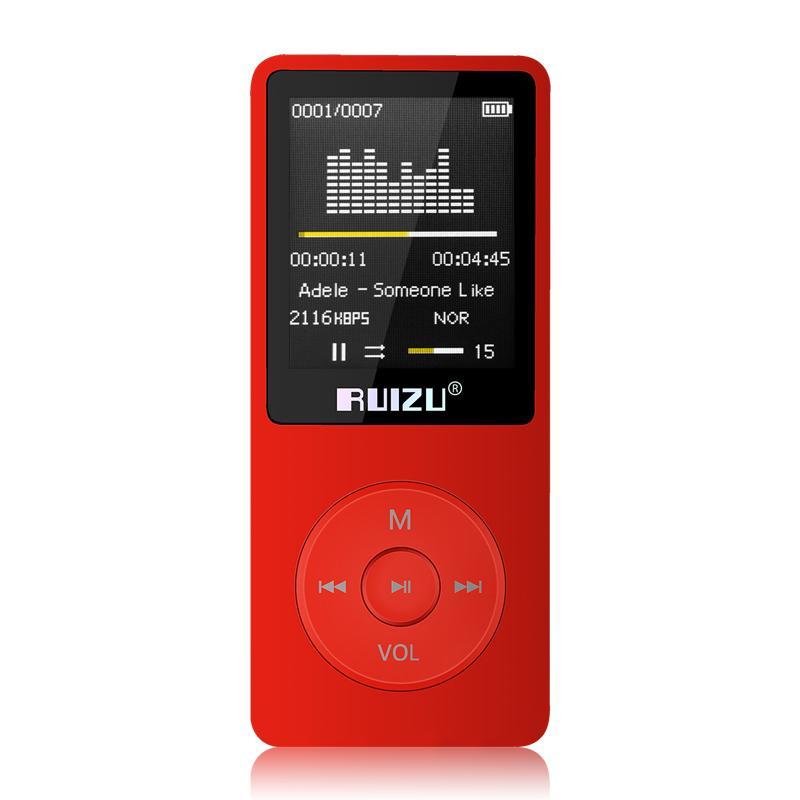 Máy nghe nhạc mp3 RUIZU X02 (8Gb) [Tặng tai nghe nhạc Ruizu]
