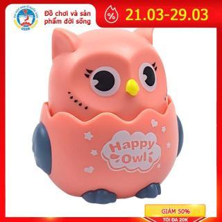 Đồ chơi cho bé chim cú mèo đáng yêu dễ thương, chạy cót vui nhộn, thú vị nhựa an toàn, nhấn là chạy thumbnail
