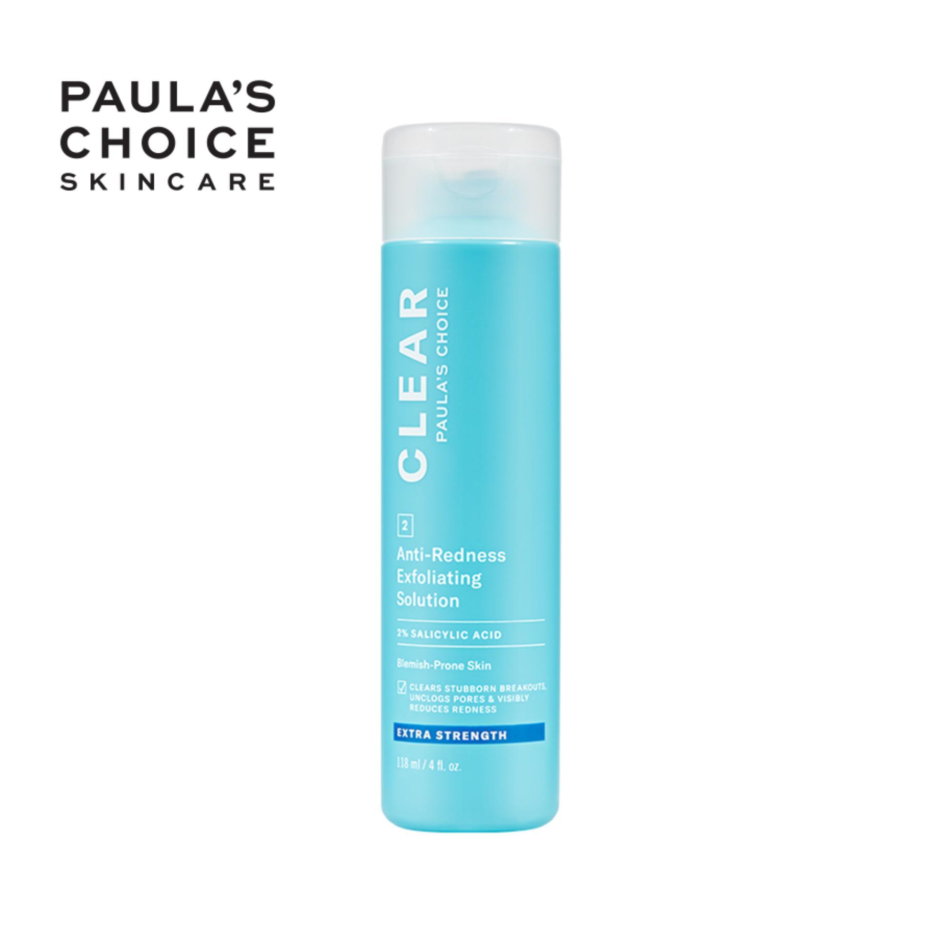 Dung dịch tẩy da chết chuyên sâu Paula's Choice Clear Extra Strength Anti-Redness Exfoliating Solution 118ml 6210 cao cấp