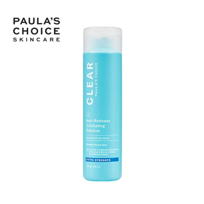Dung dịch tẩy da chết chuyên sâu Paula's Choice Clear Extra Strength Anti-Redness Exfoliating Solution 118ml