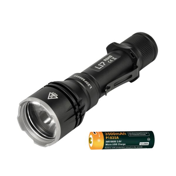 Bảng giá ACEBEAM L17 KÈM PIN - Đèn pin chiếu xa nhỏ gọn sáng trắng 1400lm chiếu xa 802m sử dụng 1 pin 18650