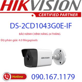 [HCM]Camera IP hồng ngoại 4.0 Megapixel HIKVISION DS-2CD1043G0E-IF thumbnail