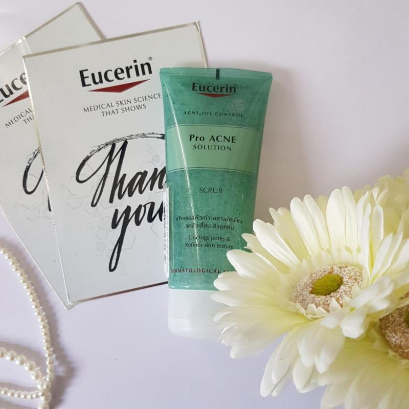 Gel tẩy tế bào chết dành cho da mụn Eucerin ProAcne Scrub 100ml nhập khẩu