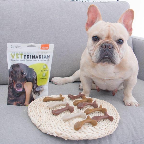 xương làm thơm miệng chữ T hiệu YAHO cho chó
