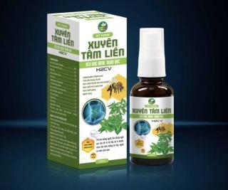 Xịt Họng Xuyên Tâm Liên Keo Ong Xanh Nano Bạc -Hỗ trợ ngừa khuẩn, Giúp làm sạch họng, tăng đề kháng, kháng viêm chống vi rút đường hô hấp thumbnail