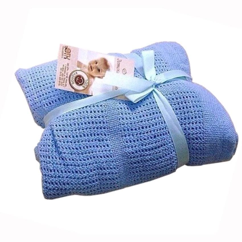 Chăn lưới chống ngạt cho bé yêu (hàng xuất Nga) 150x100cm