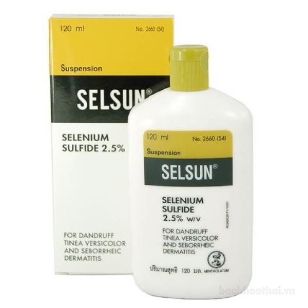 Dầu gội đánh bay ǥàu Selsun Selenium Sulfide 2.5% giá rẻ