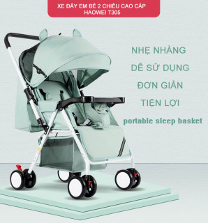 [ SALE 50%] Xe đẩy, xe nôi du lịch trẻ em, xe ngồi cho bé đi dạo, xe đẩy gấp gọn 2 chiều cho bé 0-36 tháng tuổi, an toàn chắc chắn thumbnail