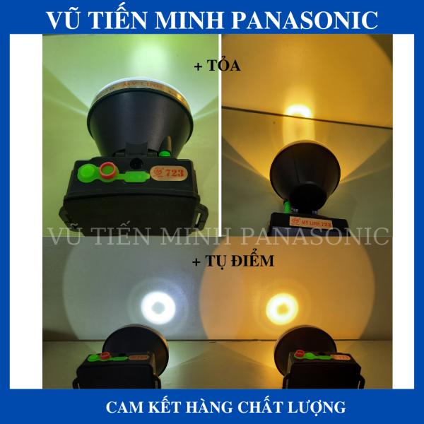 Bảng giá Đèn đội đầu siêu sáng, siêu chống nước 200W, 65W Mỹ Linh