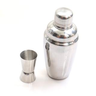 [COMBO BỘ PHA CHẾ] Combo bình lắc và ly đong định lượng pha chế 2 đầu inox 304 cao cấp BLD01 thumbnail