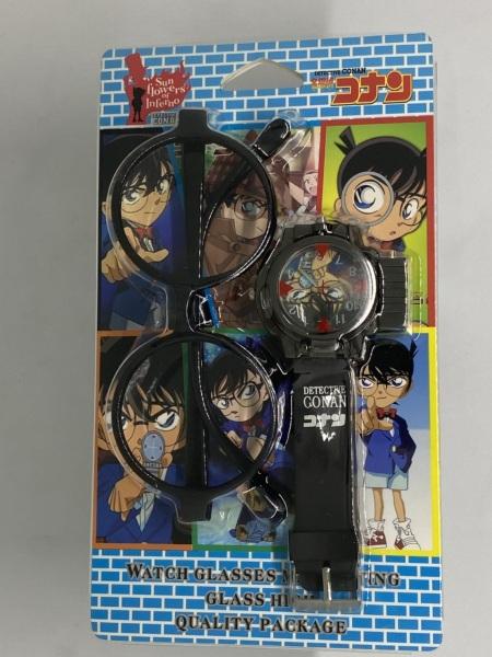 Đồng hồ bé trai Conan mới Combo Kính thám tử bán chạy