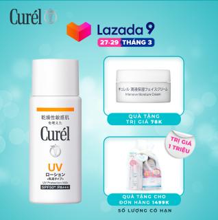 Sữa chống nắng Curel UV Protection Milk SPF 50+ PA+++ 60ml thumbnail
