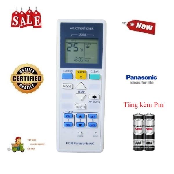 Bảng giá Remote Điều khiển điều hòa Panasonic 1 & 2 chiều Inverter- Hàng loại tốt mới 100% Tặng kèm Pin-Điện tử Alex