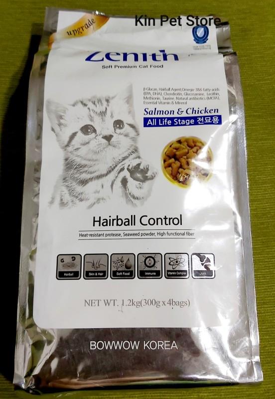 [Túi 1.2kg] Thức ăn cho mèo - Hạt mềm Zenith tiêu búi lông cải thiện hệ miễn dịch