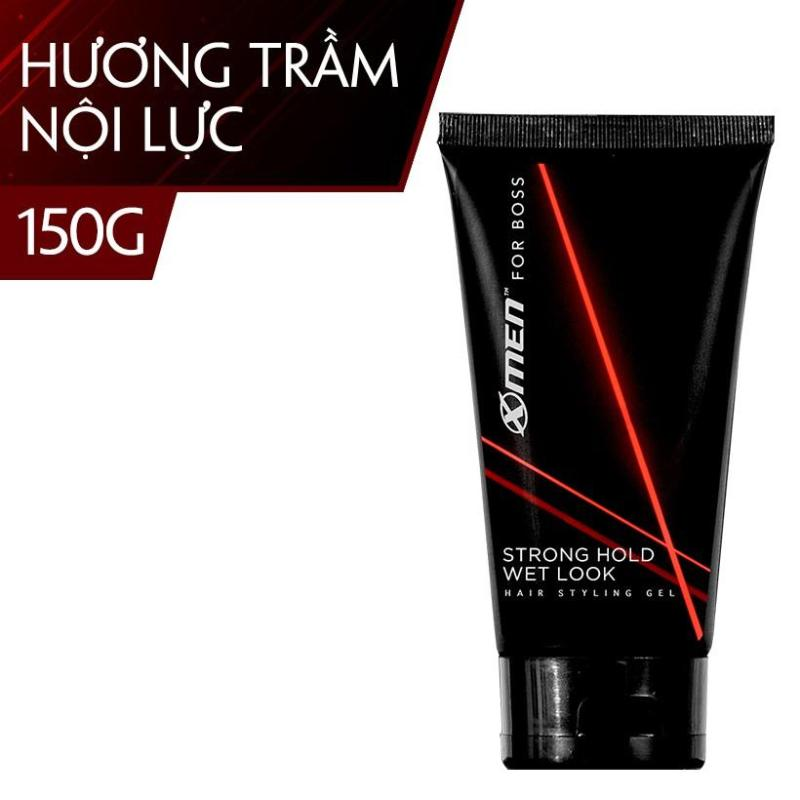 Gel Tạo Nếp Tóc X-Men For Boss Strong Hold Wet Look 150g giá rẻ