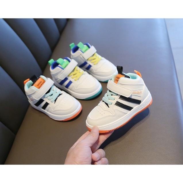 Giày Thể Thao Hai Sọc Cổ Lửng Cho Bé Trai/Gái từ 1-6 tuổi -giày cho bé mẫu mớt hót nhất 2020 - G11 giá rẻ