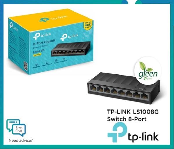 Bảng giá Bộ Chia Mạng 8 Cổng Gigabit TP-Link LS1008G - Switch 8 Port 10/100/1000Mbps Hàng Chính Hãng Phong Vũ