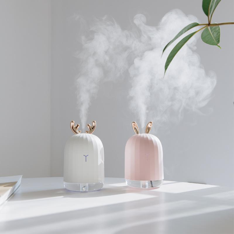 Bảng giá 💓XẢ KHO💓 Máy tạo đổ ẩm hình thỏ dễ thương, dùng phun sương nano, khuếch tán không khí, cho bạn không khí mát mẻ và trong lành