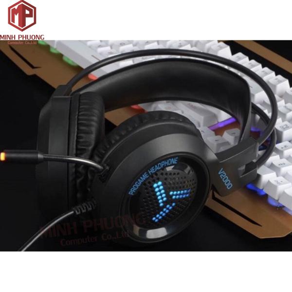 Bảng giá Tai nghe chuyên gaming GNET H3T có mic đèn led đổi màu Phong Vũ