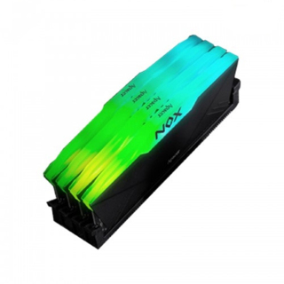Ram Apacer 8GB (1x8GB) DDR4 3200Mhz NOX RGB Black AH4U08G32C28YNBAA-1 thumbnail
