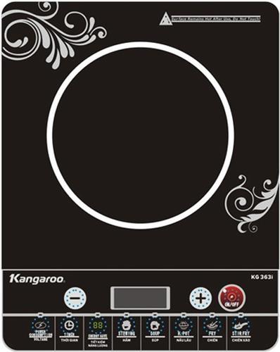 Bếp điện Từ đơn Kangaroo KG420i (Đen) Giá Giảm