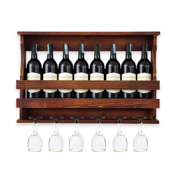 Kệ Rượu Treo Tường KR27