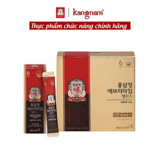 Nước hồng sâm Hàn Quốc Everytime Balance KGC Cheong Kwan Jang 10ml x 30 gói - Bổ sung năng lượng, cải thiện hệ miễn dịch, chống oxy hoá, tăng trí nhớ thumbnail