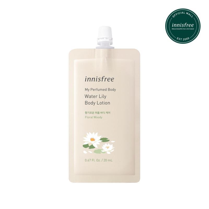 Sữa dưỡng thể hương nước hoa innisfree My Perfumed Body Waterlily Lotion 20ml